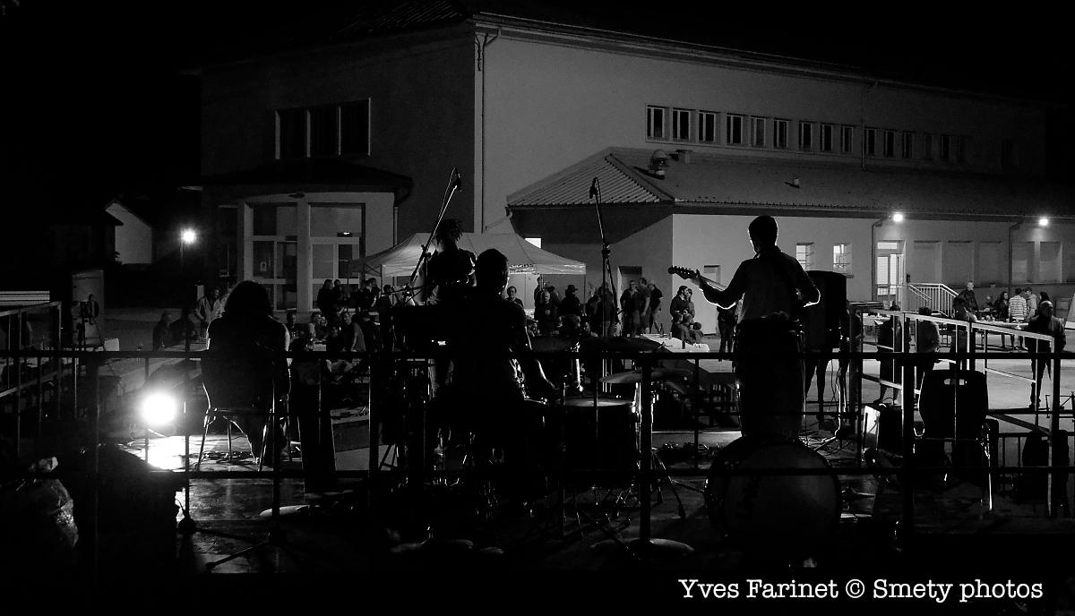 Nameleft, fête de la musique 2019 à Clairvaux-les-Lacs. Yves Farinet - Smety photos