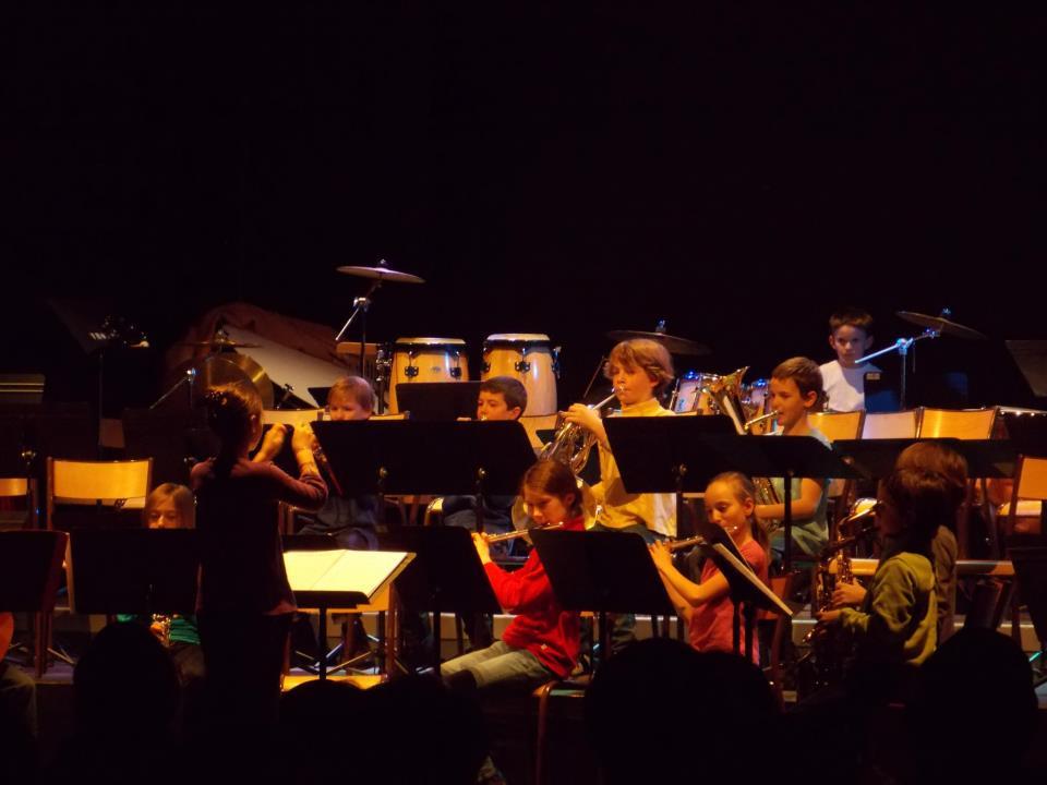 L'orchestre des jeunes musciens de Thônes