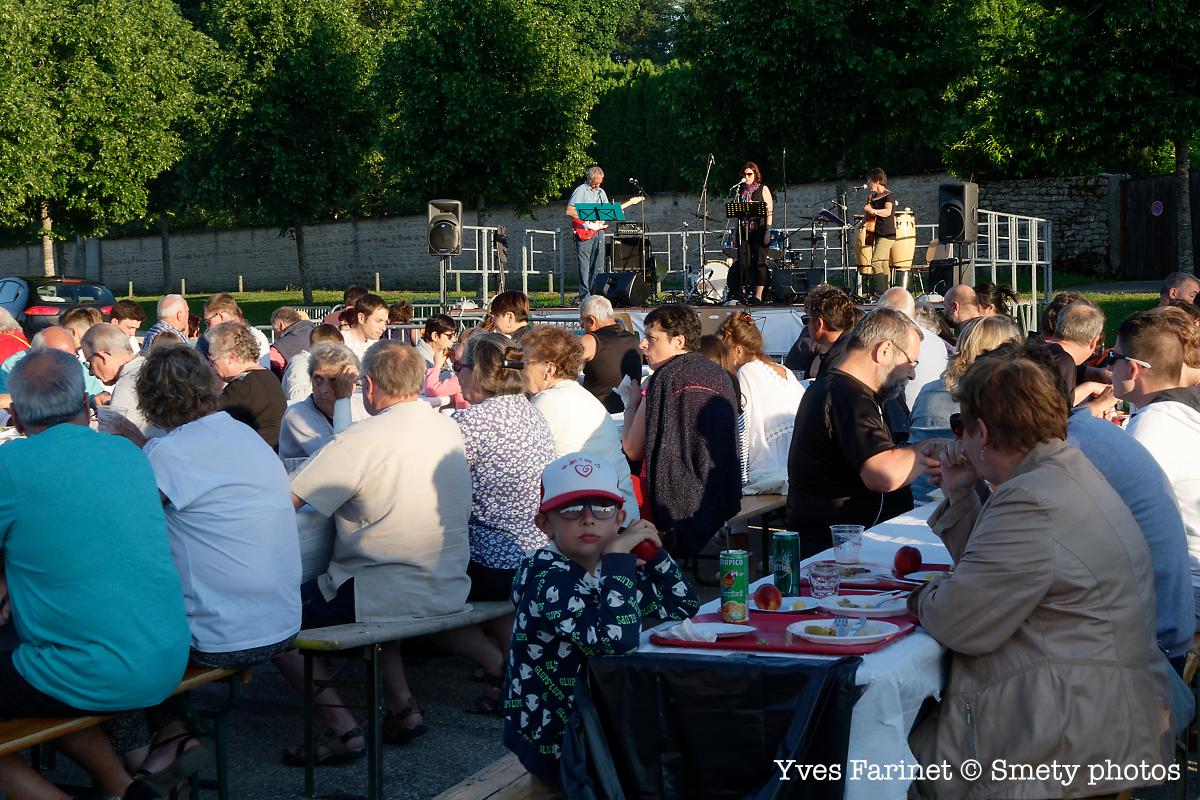 Fête de la musique 2019 à Clairvaux-les-Lacs. Yves Farinet - Smety photos
