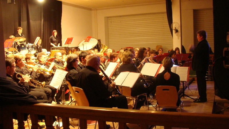 L'orchestre dans l'ensemble